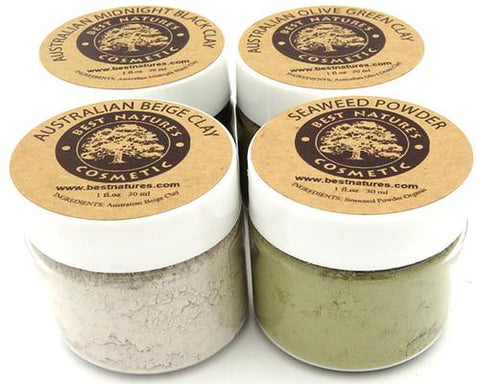 4 Clays Organic Personalized Gift Set. Delicately