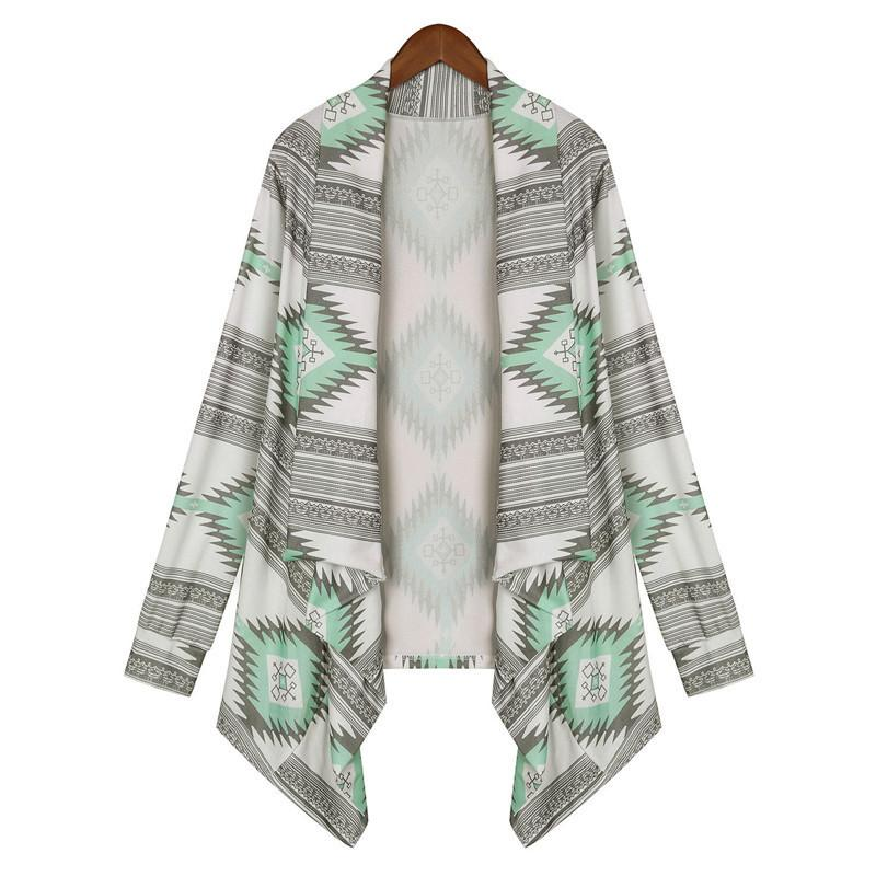 Women Long Sleeve Lightweight Kimono Cardigan Loose Spring Sweater Knitted Outwear Plus Size Open Coat