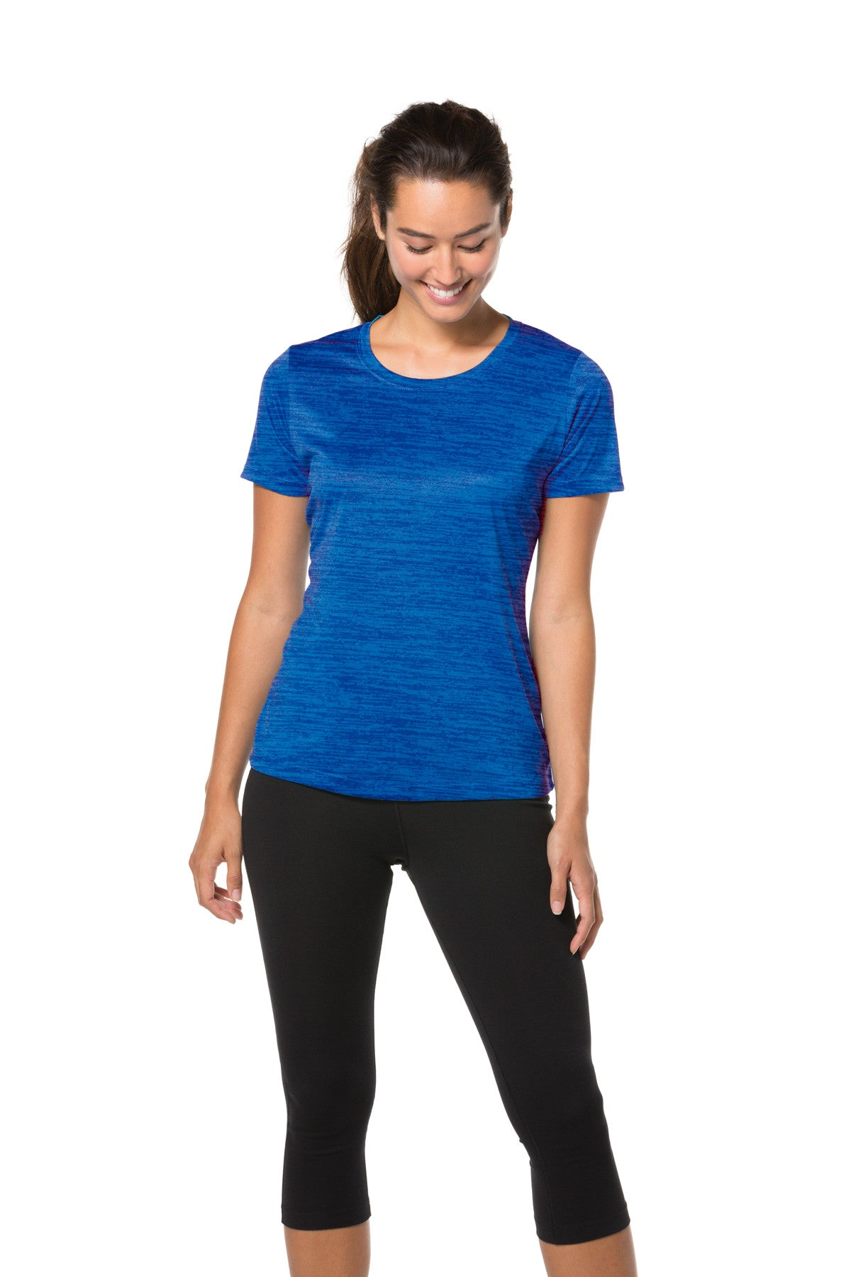 Ladies Tonal Blend Performance T-Shirt
