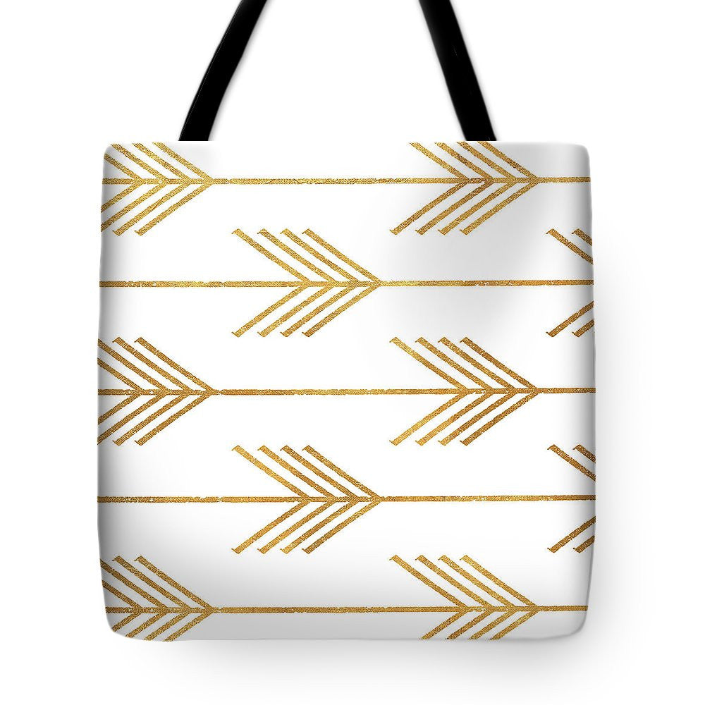 Golden Arrows I Tote Bag