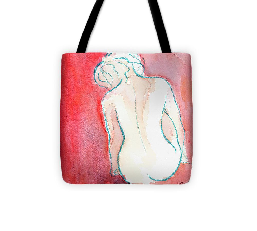 Female Watercolor Figure I Tote Bag