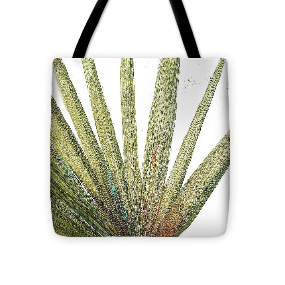 Organic On White II Tote Bag