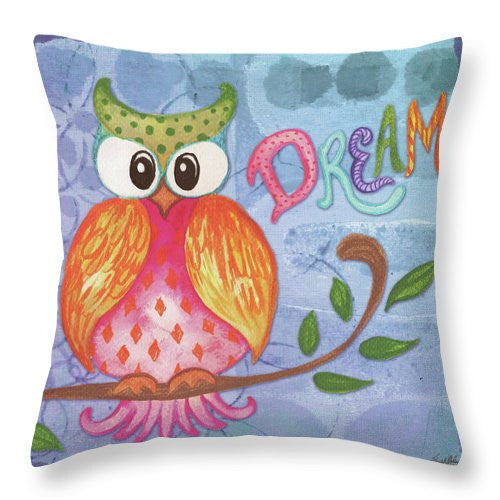 Spring Blossom II Throw Pillow