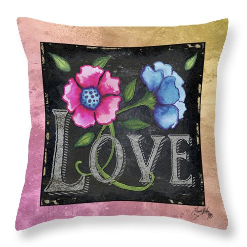 Spring Burst IIi Throw Pillow