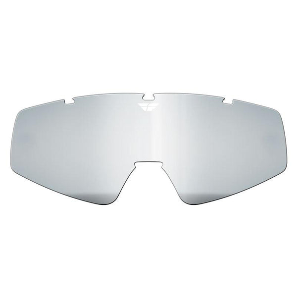 FLY ZONE/FOCUS GOGGLE LENS (2012-2018) CLR W/O POSTS