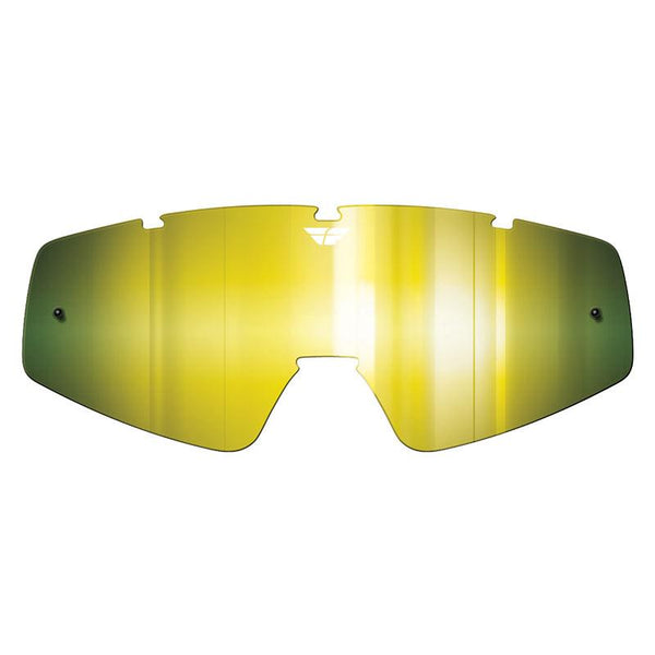 FLY ZONE/FOCUS GOGGLE LENS (2012-2018) GLD MIRROR/ YEL