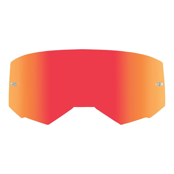FLY '19 SINGLE GOGGLE LENS RED MIR/CLEAR