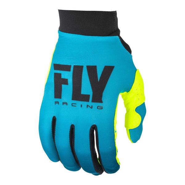 FLY PRO LITE LADIES GLOVE '19 BLU/HI-VIS SZ 9 XL
