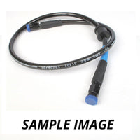 WHITES PREMADE BRAKE LINE 400mm - DARK SMO STEEL