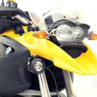 DENALI AUX LIGHT MOUNT BRKT BMW R1200GS/GSA ASSTD YEARS