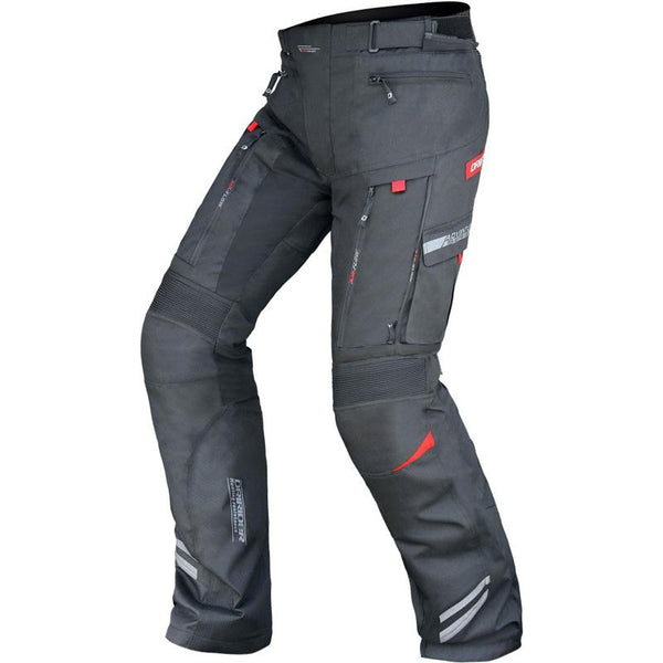DRIRIDER VORTEX ADVENTURE PANT - BLACK / BLACK