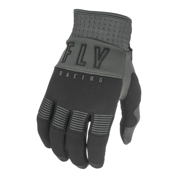 Fly 2021 F-16 Youth Glove - Black / Grey