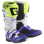 GAERNE SG12 BOOT - BLUE / WHITE / FLURO