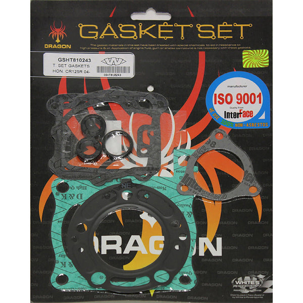 WHITES GASKET SET TOP HON CR125 04
