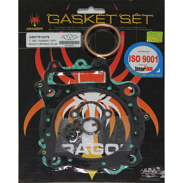 WHITES GASKET SET TOP HON CRF450X 05-17