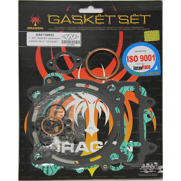 WHITES GASKET SET TOP KAW KX450F 06-08