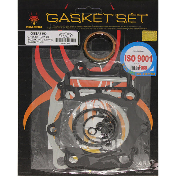 WHITES GASKET SET TOP SUZ LT-F400 Eiger / 4WD 02-11