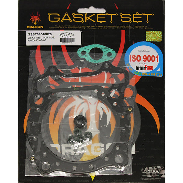 WHITES GASKET SET TOP SUZ RMZ450 05-06