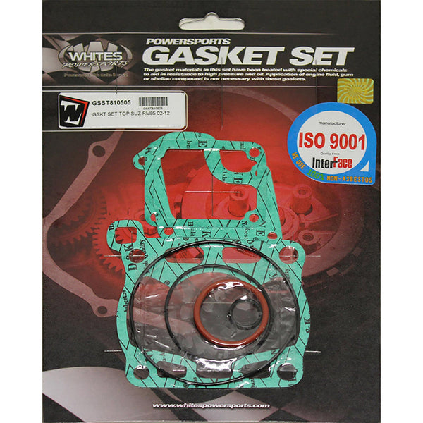 WHITES GASKET SET TOP SUZ RM85 02-15