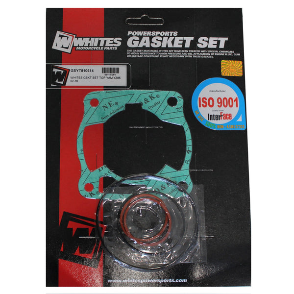 WHITES GASKET SET TOP YAM YZ85 02-16