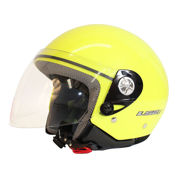 LS2 OF518 MIDWAY HELMET - HI-VIS YELLOW
