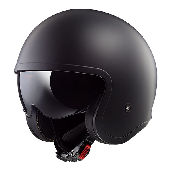 LS2 OF599 SPITFIRE HELMET - MATTE BLACK