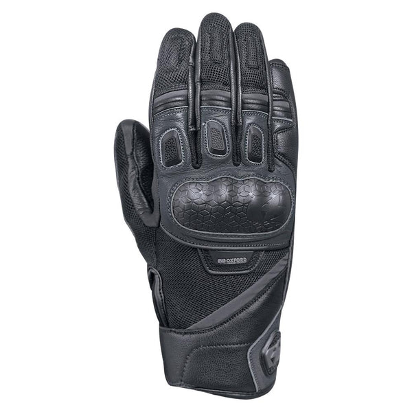 OXFORD OUTBACK MENS GLOVES - BLACK