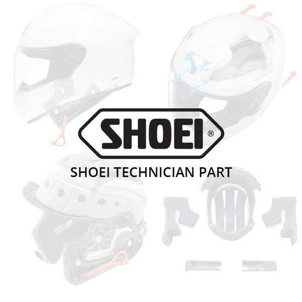 SHOEI NXR TOP AIR OUTLET S.RED