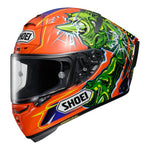 SHOEI X-SPIRIT 3 HELMET - POWER RUSH TC8