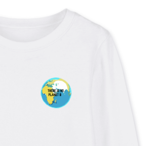 "Pull Enfant ""There is no planet B"""