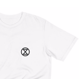 "T-Shirt Femme ""Extinction Rebellion"""