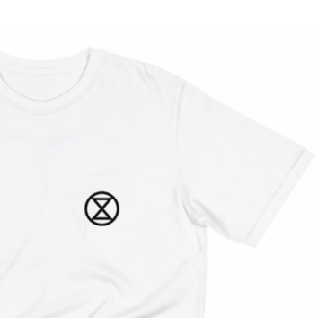"T-Shirt Homme ""Extinction Rebellion"""