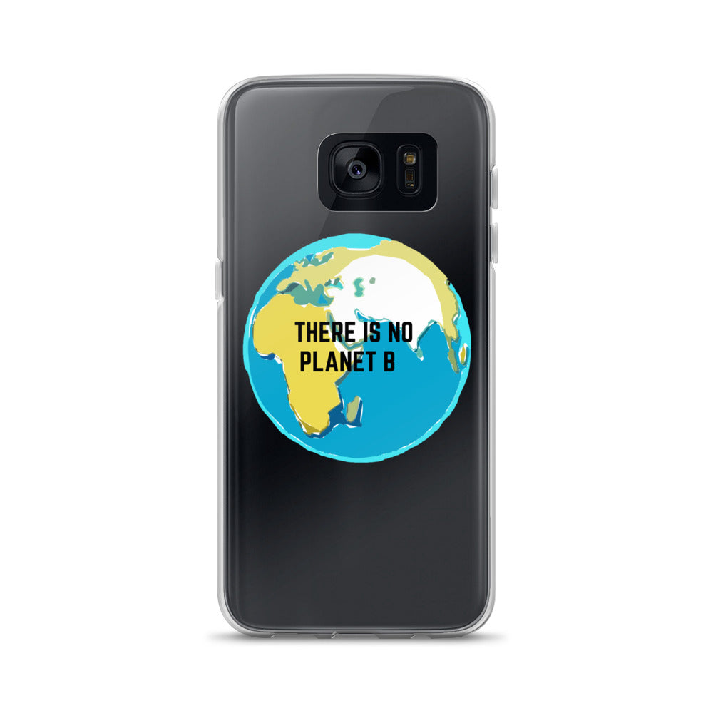 "Coque Samsung ""There is no planet B"""