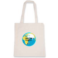 "Tote Bag ""There is no planet B"""