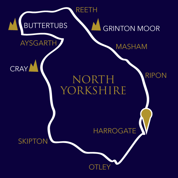 yorkshire Road World Championships 2019 route