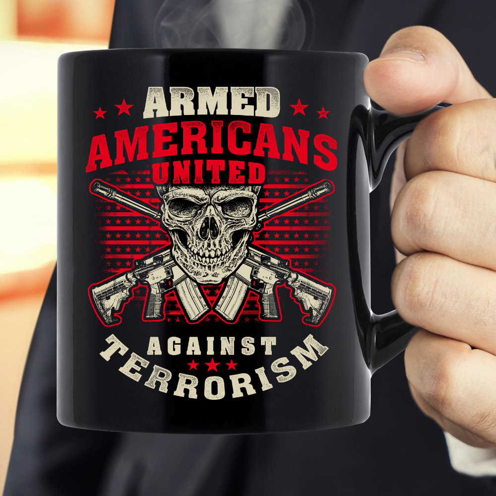 Armed Americans United Against Terrorism Mug - ATMTEE