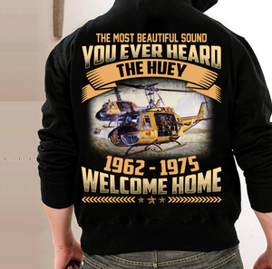You Ever Heard The Huey 1962-1975 Welcome Home Hoodies - ATMTEE