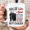 I Am A Son Of God I Was Born In April My Scars Tell A Story They Are A Reminder Of Time Mug - ATMTEE