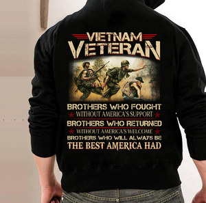 We Were The Best America Had Vietnam Veteran Hoodies - ATMTEE