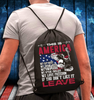 This Is America If You Don't Like It Leave Drawstring Bag - ATMTEE