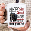 I Am A Son Of God I Was Born In March My Scars Tell A Story They Are A Reminder Of Time Mug - ATMTEE