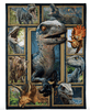 3D Dinosaur Blanket, Gift For Dinosaur Lover Fleece Blanket - ATMTEE