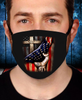 3D Cross Flag Face Cover - ATMTEE