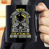 Never Underestimate Who Is Also An Army Veteran Mug - ATMTEE