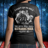 I Can't Go To Hell The Devil Still Has A Restraining Order Against Me Ladies T-Shirt - ATMTEE