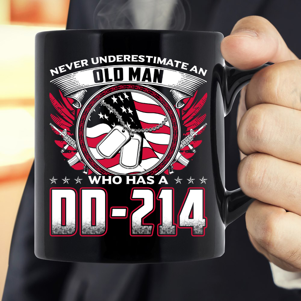 Old Man Who Has DD-214 Mug - ATMTEE