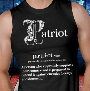 Patriot A Person Who Vigorously Supports Their Country Tank - ATMTEE
