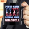 Proud Army National Guard Grandma USA Veteran Military Mug - ATMTEE