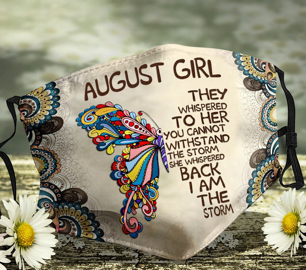 August Girl They Whispered To Her Face Cover - ATMTEE