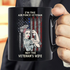I'm The Air Force Veteran Not The Veteran's Wife Mug - ATMTEE